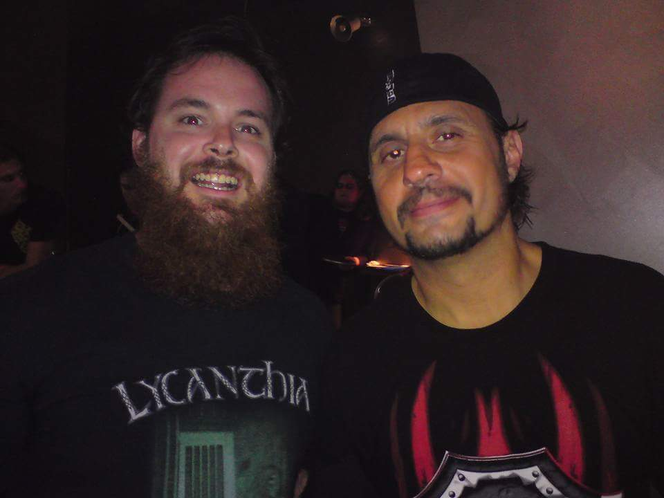 Rod Lawson and Dave Lombardo